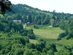Kilátás Galuzsnya-tető oldalából